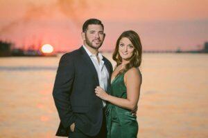 Galveston Engagement Portrait Photographer