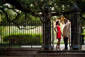 New Orleans Engagement Portrait Photographer